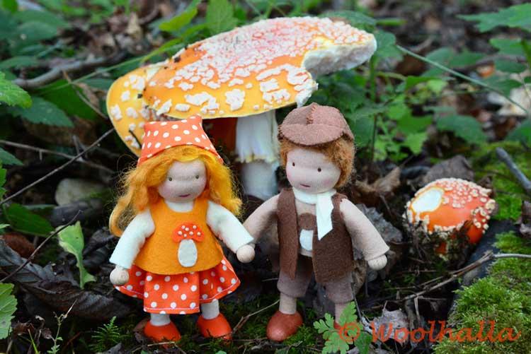 Mushroom Dolls