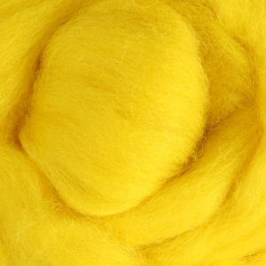 Lemon Yellow Roving CRV027