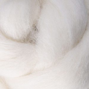White Natural Roving CRV091