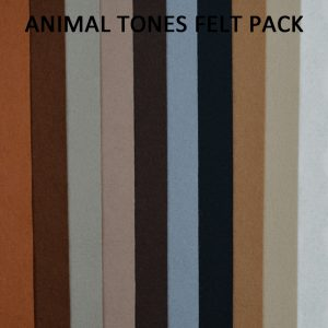 Animal Tones Felt Pack