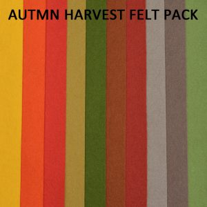 Autumn Harvest Felt Pack