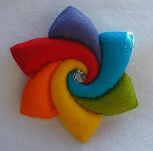 RAINBOW FLOWER KIT PPK706