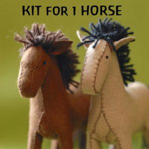 FELT HORSE KIT WHK201
