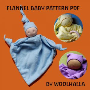 Flannel Baby Pattern PDF WHP103