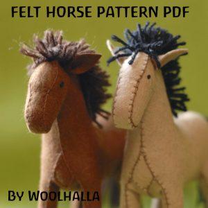 Horse Pattern PDF WHP201