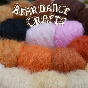 WILD BRUSHABLE MOHAIR YARN