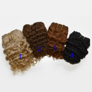 MOHAIR WEFT- Wavy or Curly MWW100