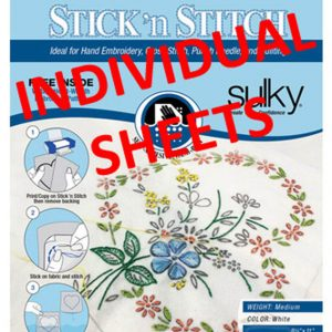 Stick 'n Stitch Individual Printable Sheets