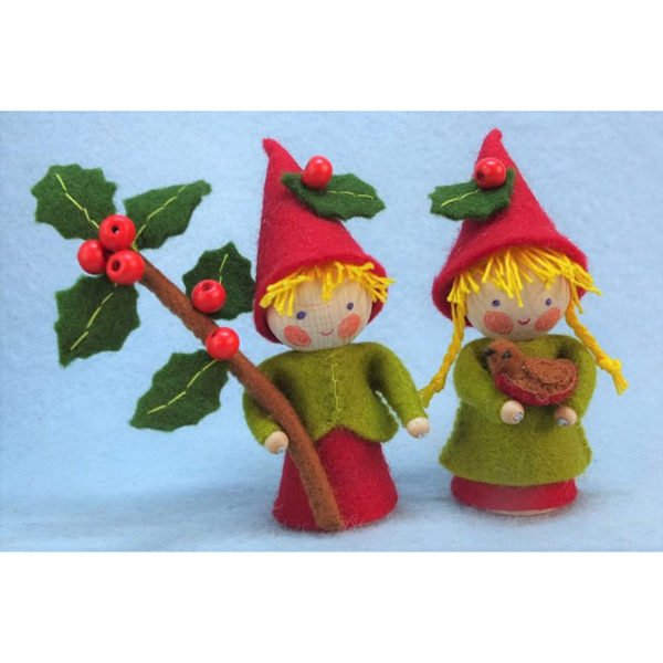 Two Little Christmas Gnomes Kit