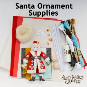 Santa Ornament Supplies