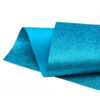 Turquoise Blue Glitter Felt