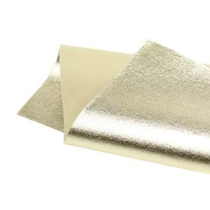 Brushed Light Gold Metallic Wool Felt WFM005