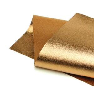 Brushed Bronze Metallic Wool Felt WFM007
