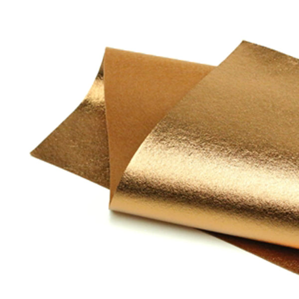 Bronze Metallic Wool Felt