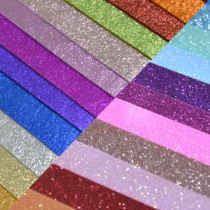 Glitter & Metallic on Wool Felt Sheets