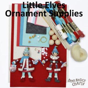Little Elves Ornament Supplies – more Bling