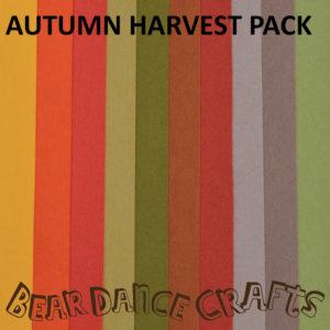 Autumn Harvest Felt Pack