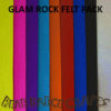 Glam Rock Wool felt