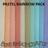 Pastel Rainbow Felt