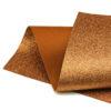 Copper Glitter Felt
