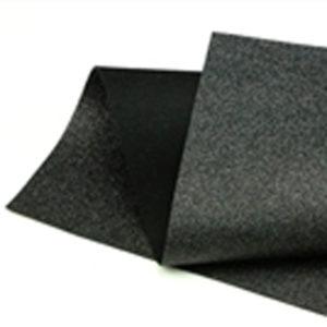 Black Glitter Wool Felt GWF007