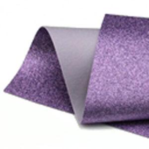 Lavender Glitter Wool Felt GWF022