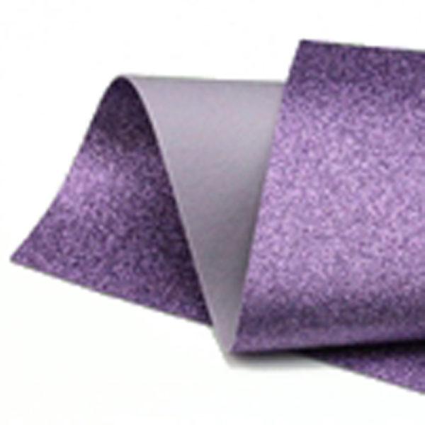 Lavender Glitter Felt