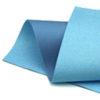 Iridescent Blue Glitter Wool Felt