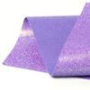 Iridescent Violet Glitter Wool Felt