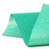 Iridescent Jade Glitter Wool Felt