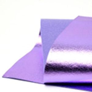 Brushed Lavender Metallic Wool Felt WFM016