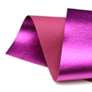 Brushed Radiant Pink Metallic Wool Felt WFM004