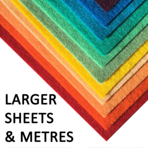 Larger Sheets and Metres Wool Felt